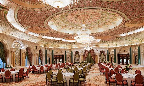 This magnificent ballroom caused quite a controversy with supposedly false advertising.