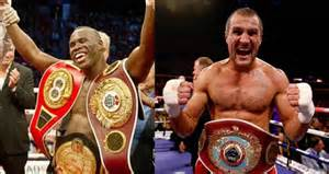 They both have belts, but the real champion won't be crowned until Adonis Stevenson and Sergey Kovalev fight eachother.