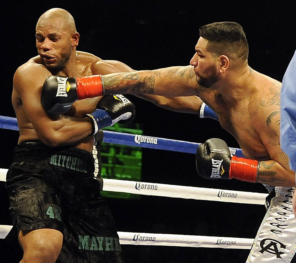 Chris Arreola propelled himself back into the heavyweight title picture with a first round annihilation of Seth Mitchell Saturday night.