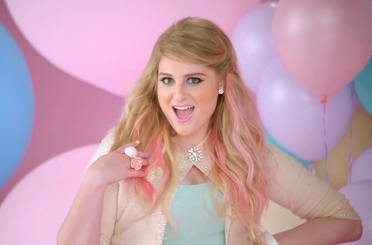 "Meghan Trainor's tried to repackage ""I Like Big  Butts"" for the new millennium."
