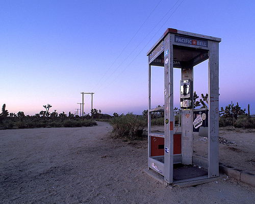This is where I picture getting these calls from. Phone booths are considered cutting edge technology in Portugal.