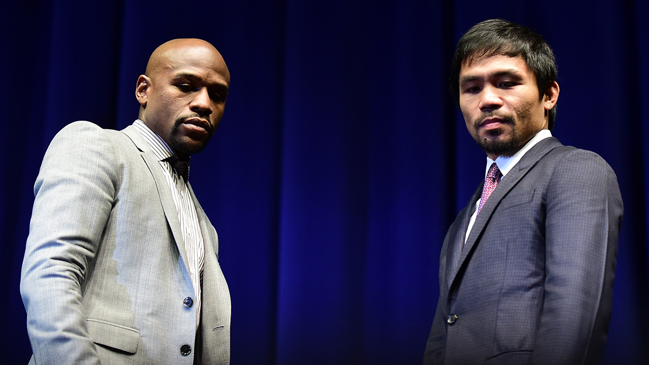 The poor man's versoin of The Fight of the Century is right around the corner. After the bout, Mayweather and Pacquiao plan on starring in a re-make of Pulp Fiction.
