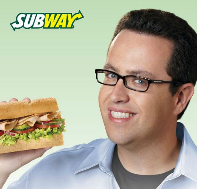 "Subway first became suspicious when Jared suggested their new motto should be ""Tastes as good as a little kid."""
