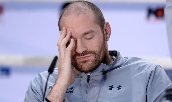 This was Tyson Fury's emotional reaction to a Trump presidency. Yeah that's right I'm still talking about it.