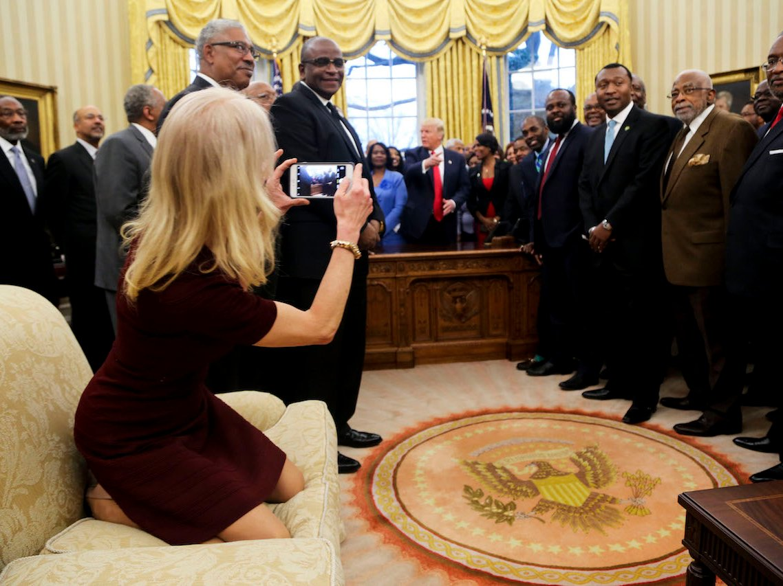 Having never seen such exotic creatures in the wild, KellyAnne used the opportunity to take a photo while on safari.
