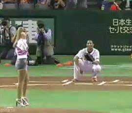 Looks like Trump taught Ivanka how to pitch.