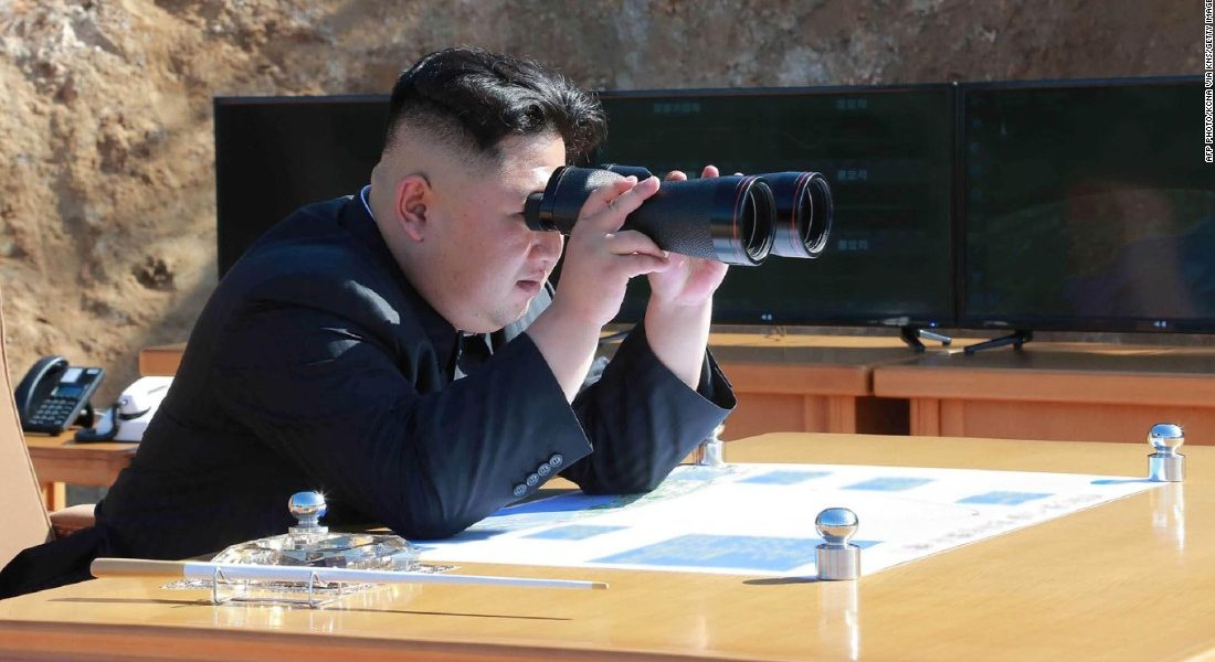 Besides nukes, Jong-un is developing special binoculars with horizontal eye holes.